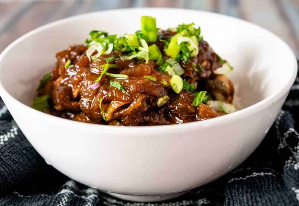 Instant Pot Chicken adobo is sweet and savory and delicious. An easy version of the Filipino favorite.