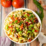 Instant Pot Vegetarian Pasta Salad Recipe