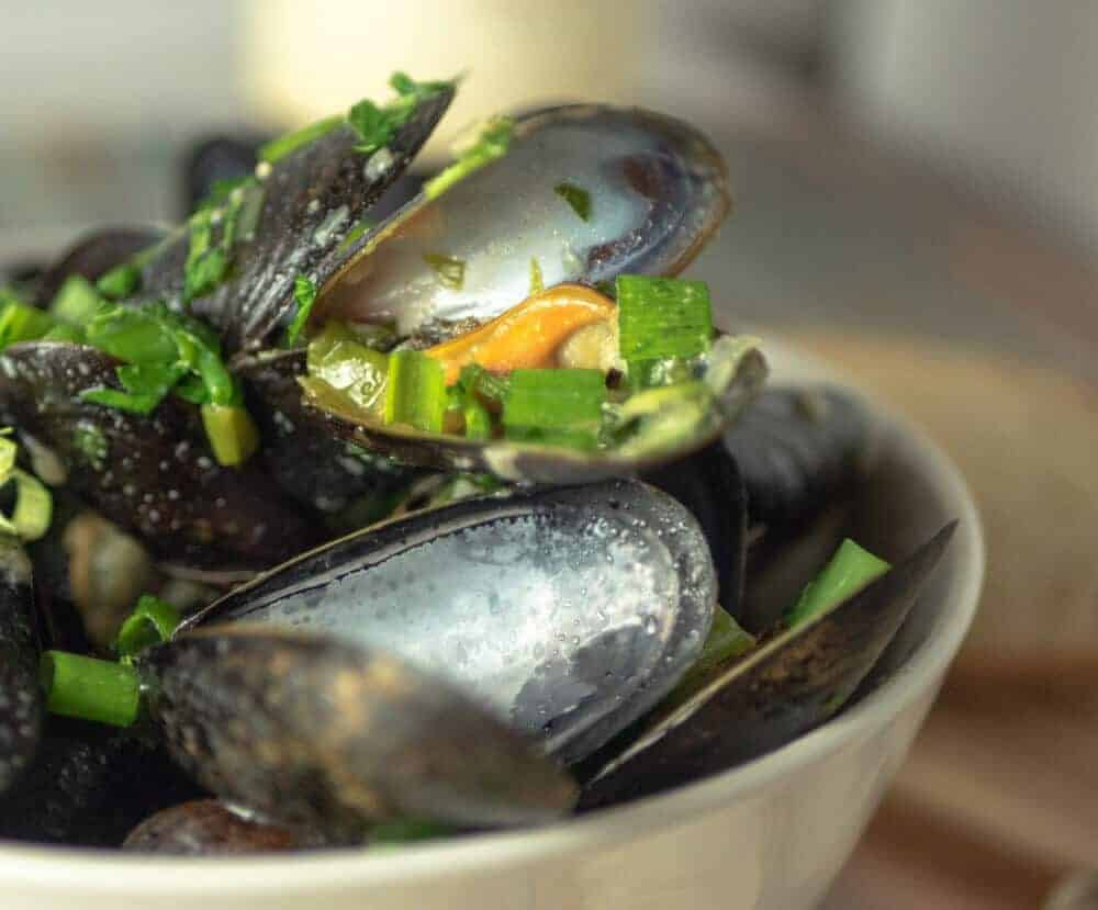 instant pot pressure cooker mussels