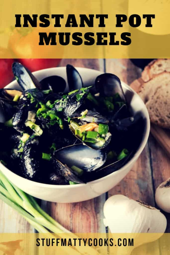 instant pot mussels in garlic butter