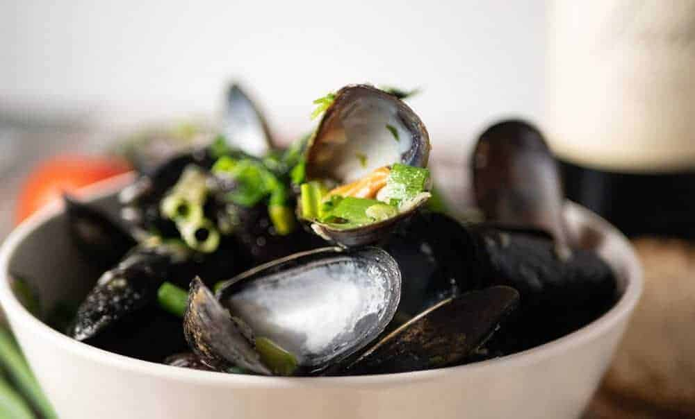 pressure cooker mussels
