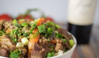 Lamb Curry Close Up