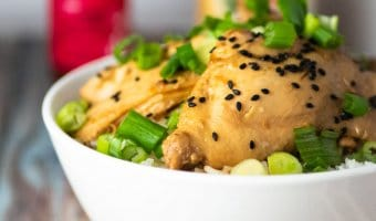 soyaki chicken is made with trader joes soyaki sauce. Its a bit like teriyaki chicken but has garlic and ginger too