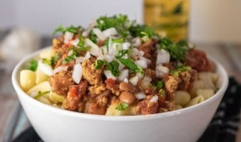instant pot turkey chili. Easy to make healthy and delicious