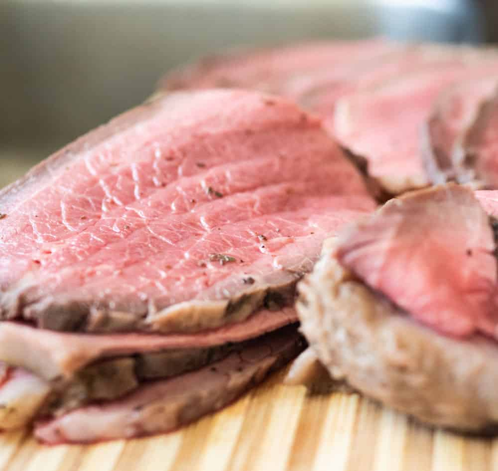 Rare Roast Beef cooke in the Instant Pot