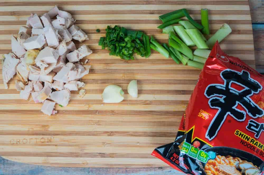 Ingredient to add into Teriyaki Chicken Ramen