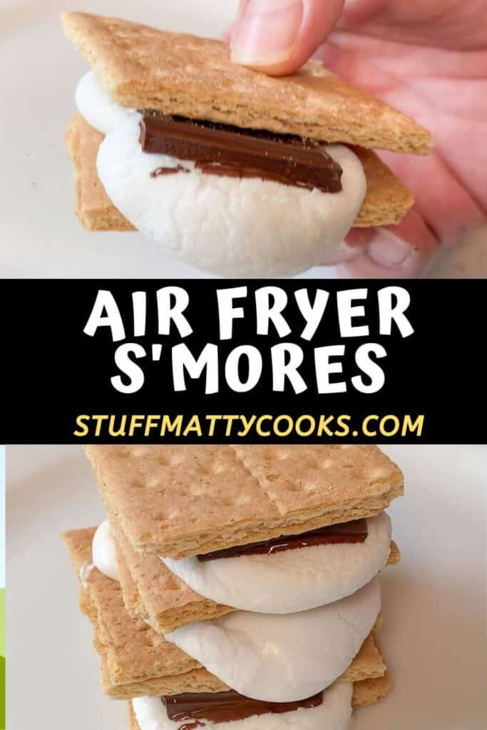 Air Fryer S'mores Pin Image