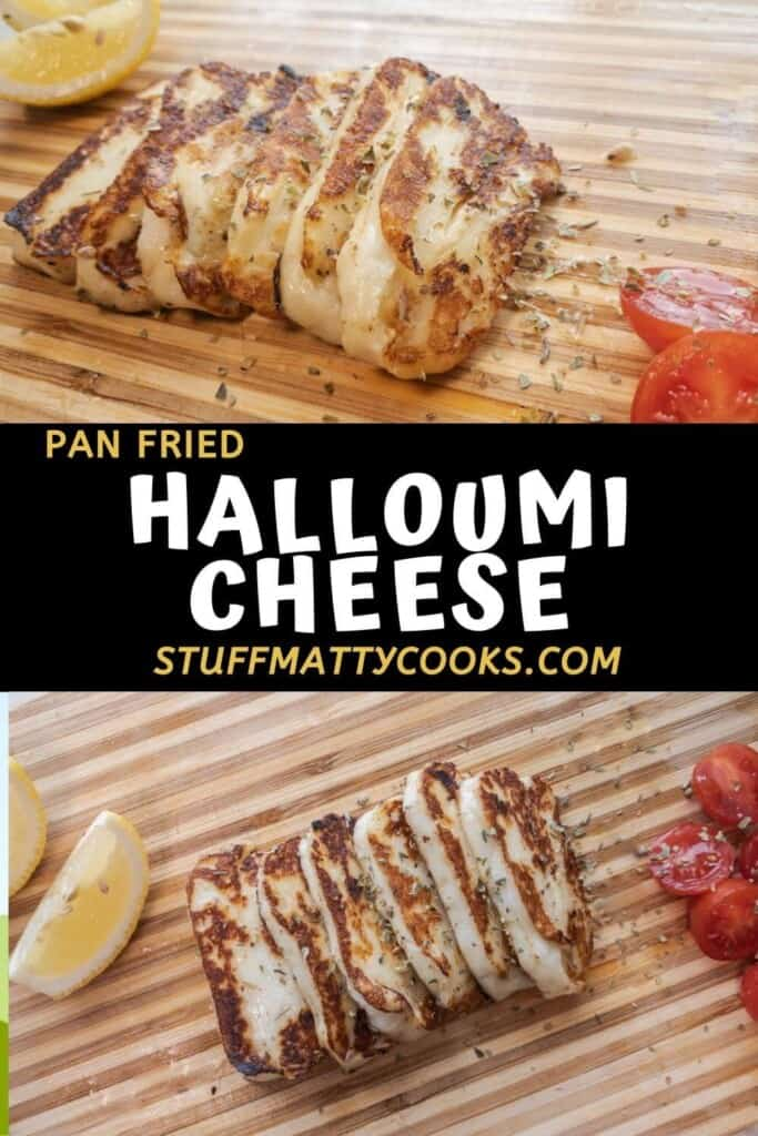 Halloumi Cheese Recipe (Pan Fried)