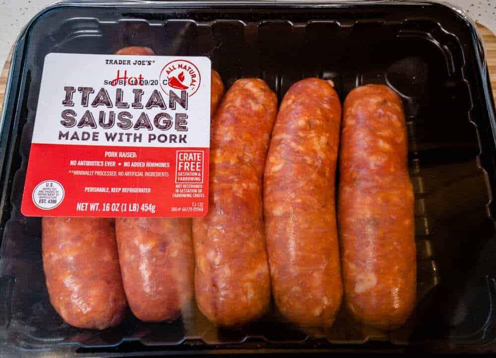 Trader Joes Italian Sausage