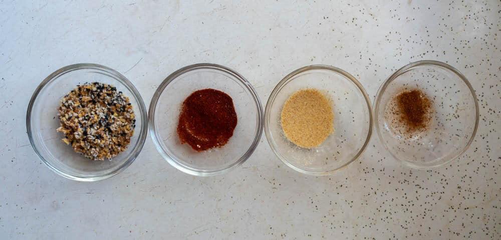 spices used to season pretzels