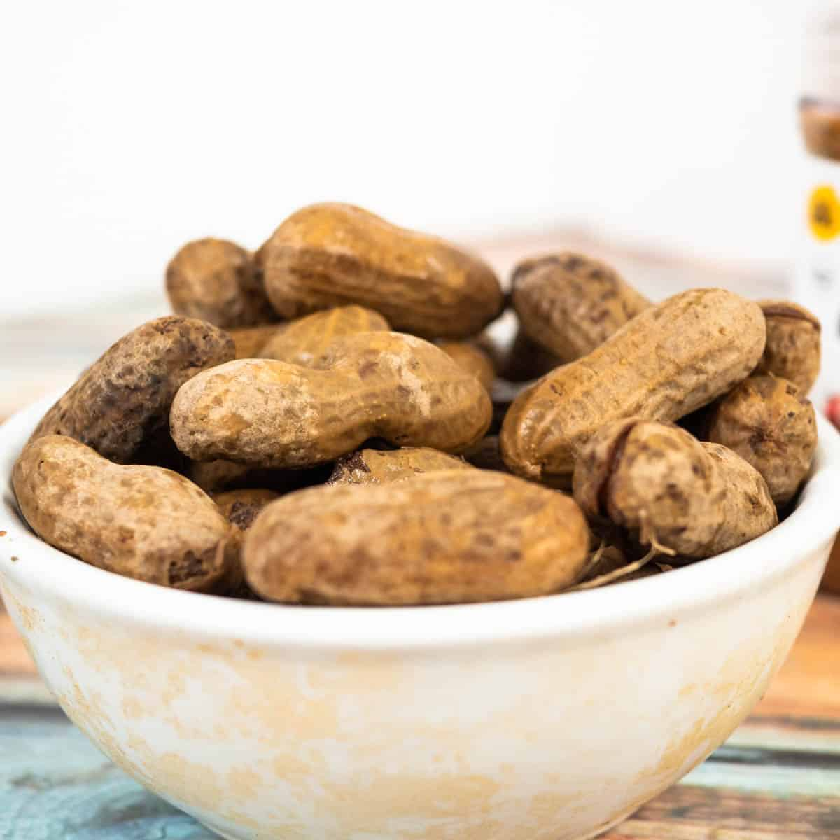 Boiled Peanuts ready to Eat