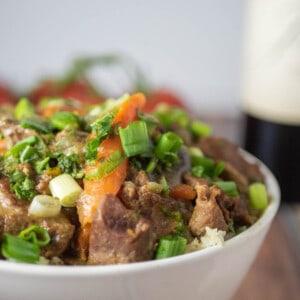 Lamb Curry Instant Pot Close Up