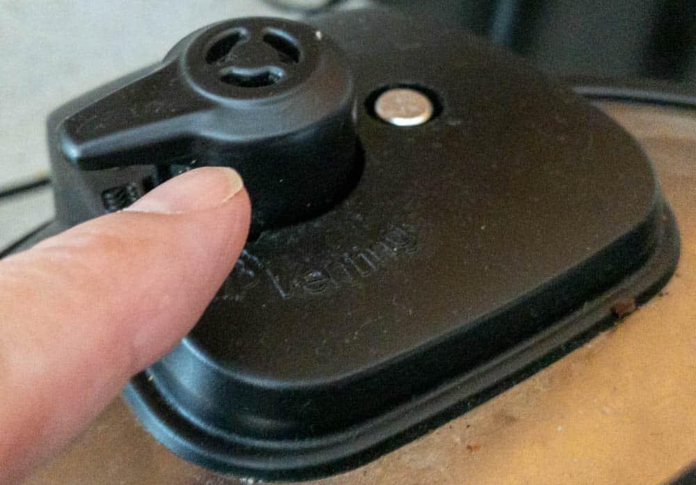 Instant Pot pressure release valve