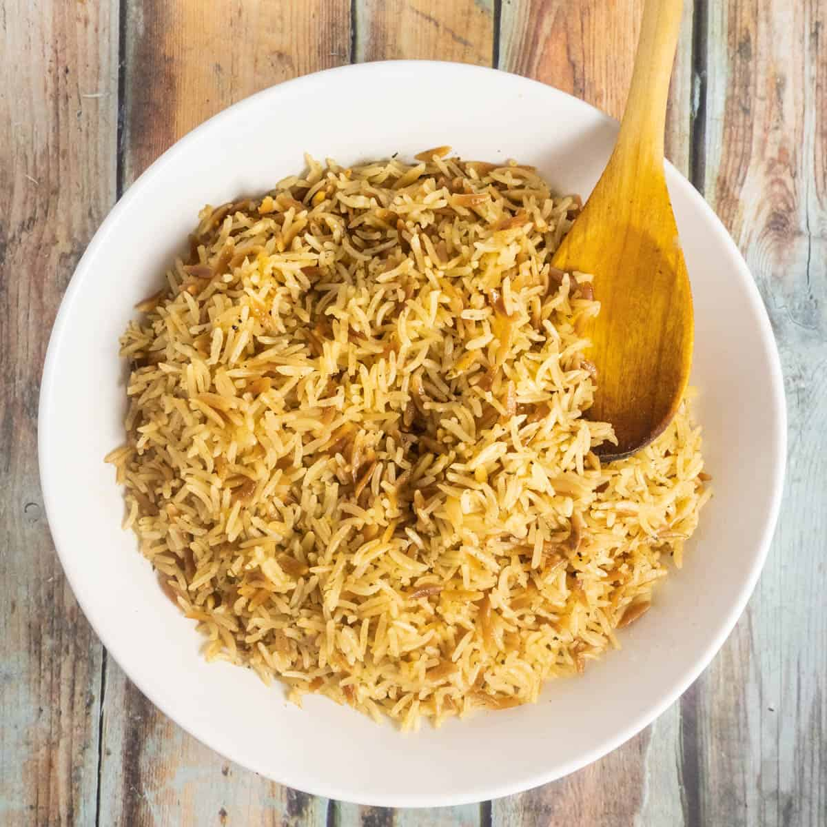 instant pot rice pilaf featured image
